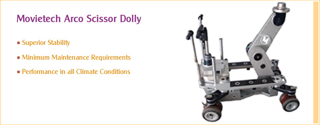 Movietech Arco Scissor Dolly